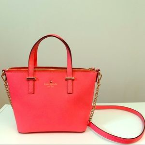 Kate Spade ♠️ Small Tote/Hot Coral